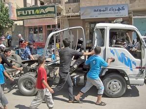 الميادين | سيارة مفخخة بعد التفجير