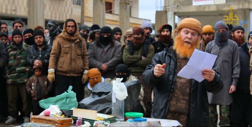 """لمحة عن""""جيش خالد بن الوليد"""" التابع للدولة الإسلامية في جنوب غربي سوريا 1486214638"""